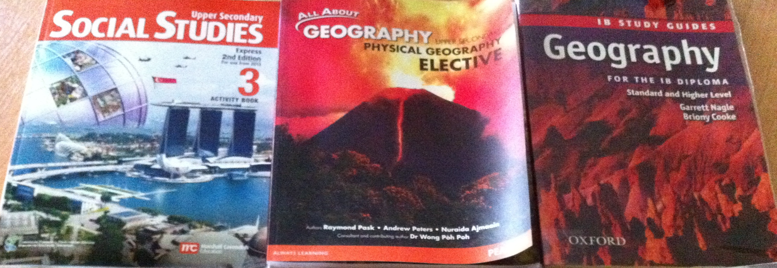The new Geography and Social Studies Syllabus are covered